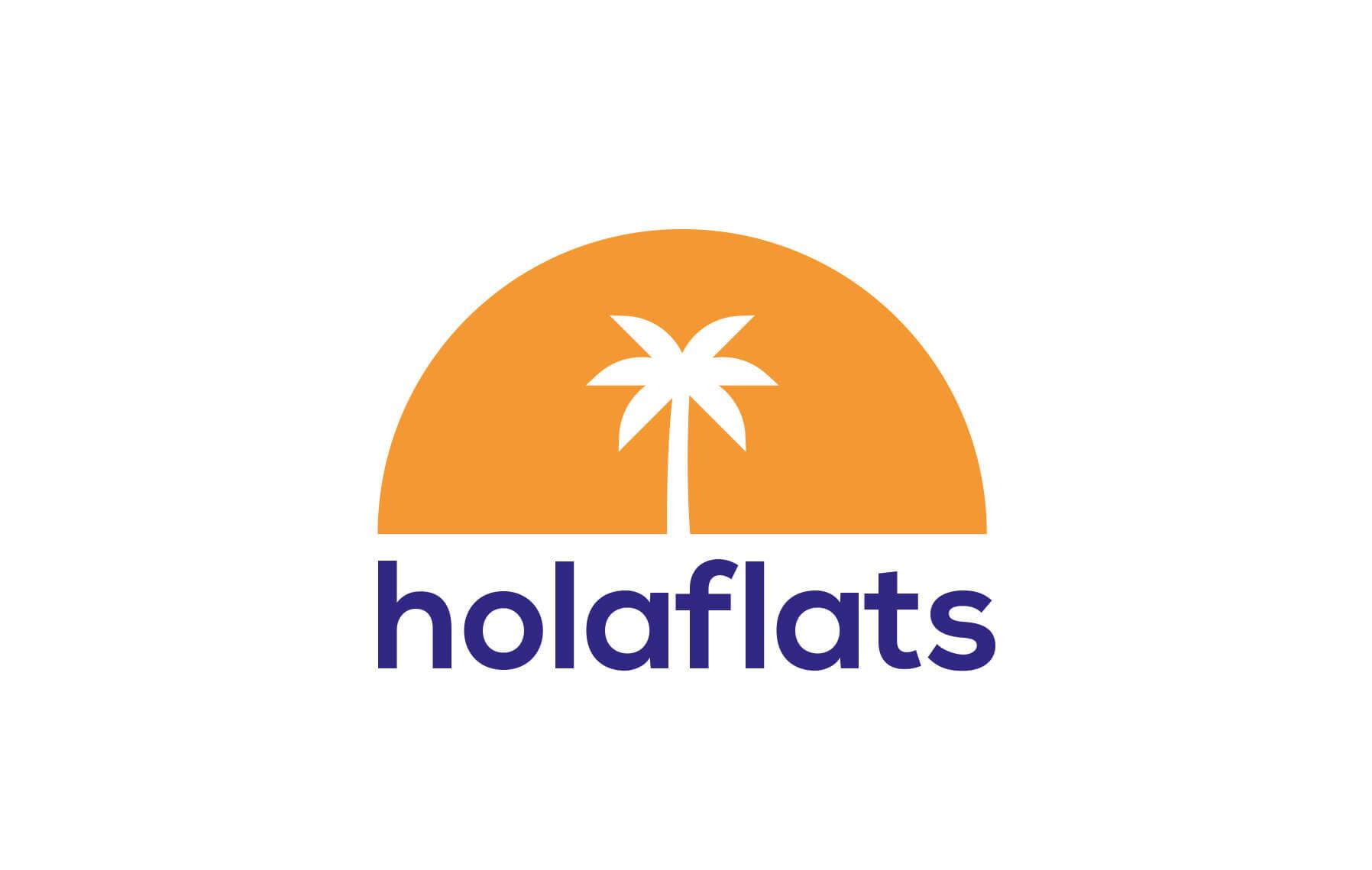 Holaflats Logo Design