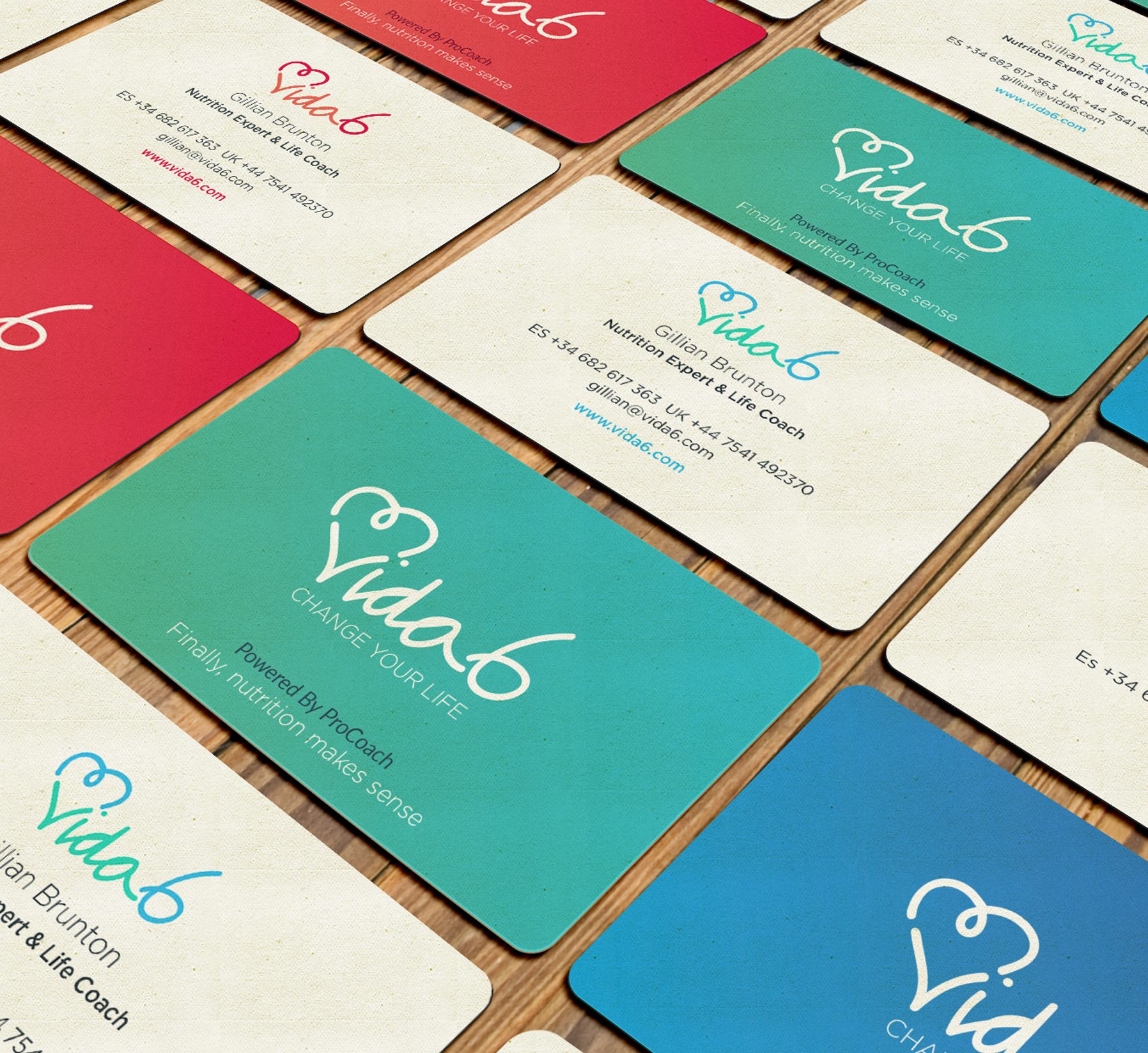 Vida6 Business Cards
